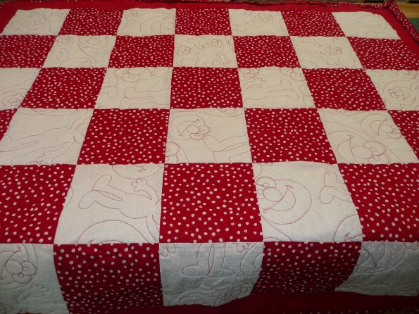 Duck's Granddaughter's Quilt